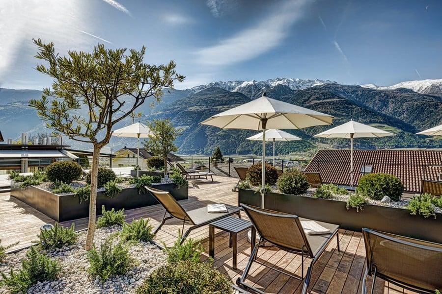 Boutique hotel belvedere in naturns bei meran for Meran boutique hotel